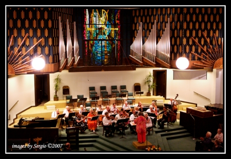 Photo of the Orchestra by Sergio Rodriguez